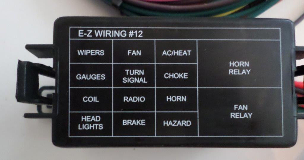 [DVZP_7254]   12 Circuit EZ mini FUSE Wiring Harness CHEVY FORD Hotrods UNIVERSAL X-long  Wires - SwapMeetParts | 12 Circuit Universal Wiring Harness |  | SwapMeetParts