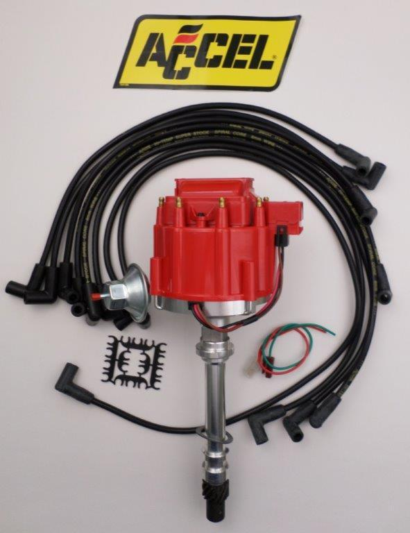 Small Block Chevy Archives - SwapMeetParts on accel electronic ignition, accel u-groove, 9018 plug wires, accel header plugs, spiral core wires, accel fuel injectors, accel ceramic plug wires, accel throttle body, custom plug wires, accel ignition systems,