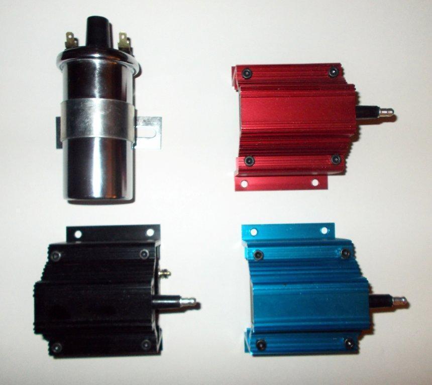 CHEVY BIG BLOCK 396-427-454 BLACK Electronic Small HEI Distributor & PLUG  WIRES