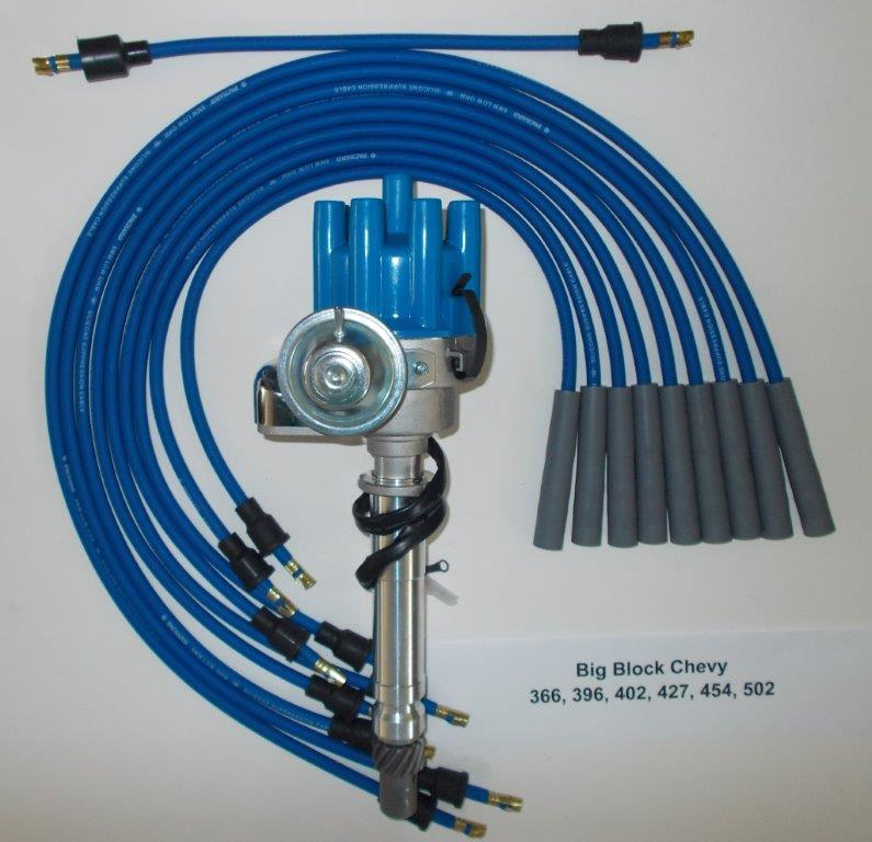 small cap hei distributor,plug wires  🔍  uncategorized