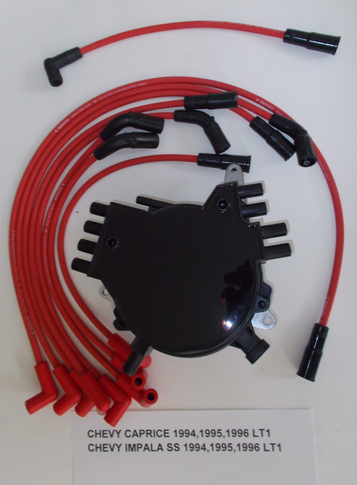 96 lt1 wiring harness location chevy caprice impala 94 96 lt1 5 7l optispark distributor and red  chevy caprice impala 94 96 lt1 5 7l