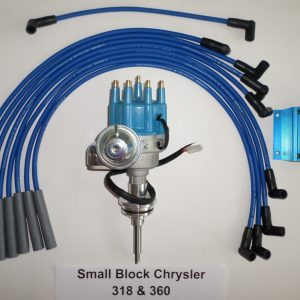 chrysler 440 59 72 red small female hei distributor chrome coil