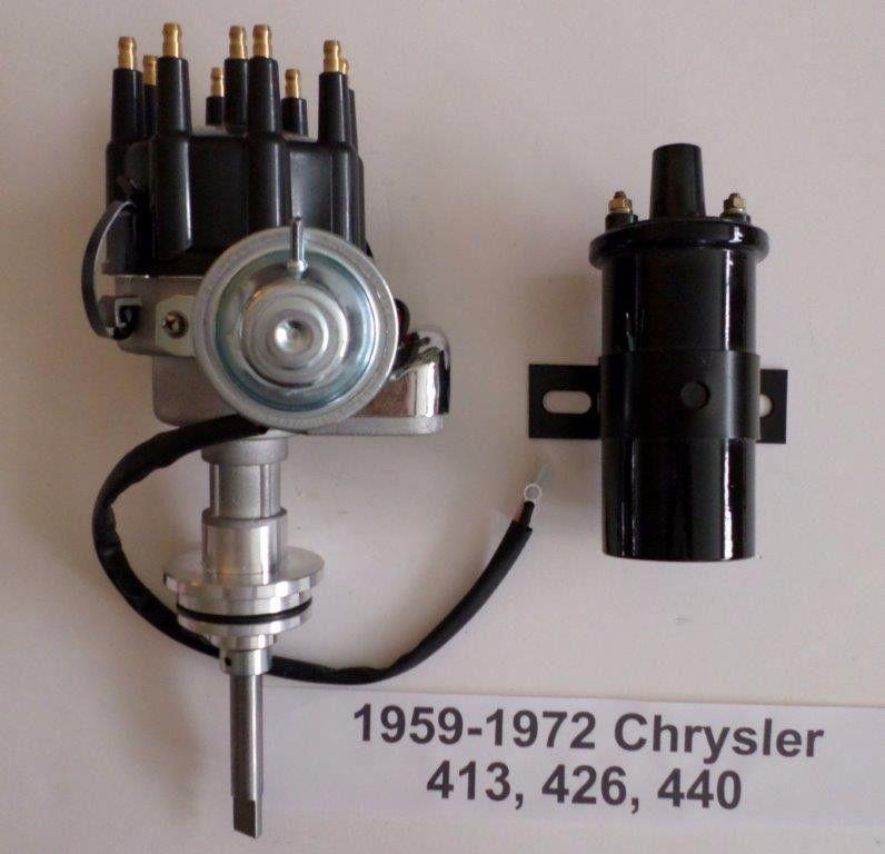 Chrysler 413  426  440 Black Ready