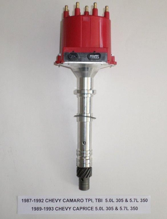 Chevy CAMARO 5.0L//305 5.7L//350 1987-93 EFI//TPI//TBI DISTRIBUTOR /& RED PLUG WIRES