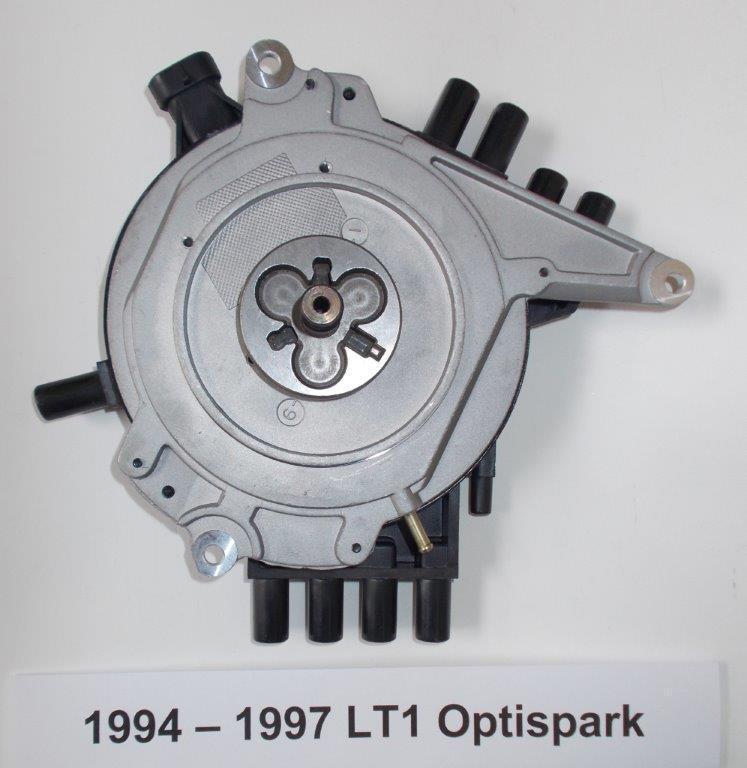 PONTIAC FIREBIRD 95-97 LT1 5 7L 350 OPTISPARK Distributor, BLUE Spark Plug  Wires