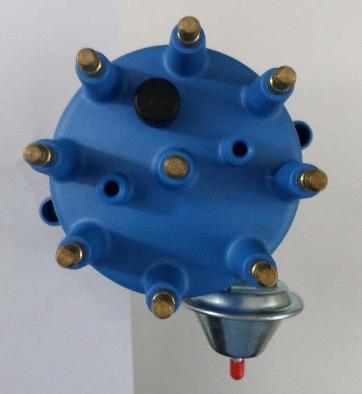 Small Cap FORD FE 352, 390, 427 & 428 BLUE HEI Distributor 45K Coil Spark  Plug Wire