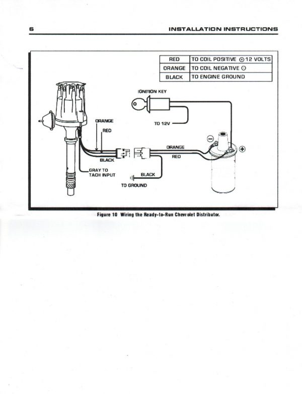 wiring diagram ignition coil plug black or small cap ford 5 0l 302 efi to carb hei distributor chrome 45k  small cap ford 5 0l 302 efi to carb hei