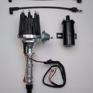 small cap oldsmobile 330, 350, 400, 403, 455 pro series black hei  distributor coil - swapmeetparts  swapmeetparts