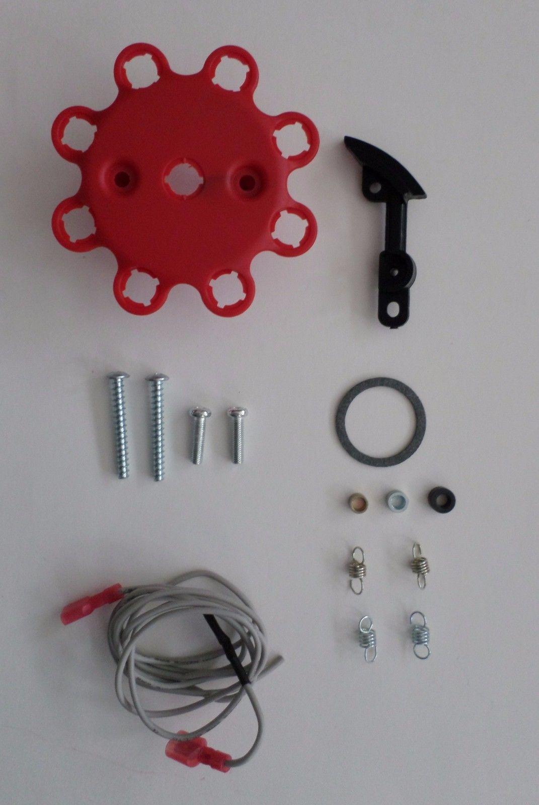 small cap SMALL BLOCK MOPAR 318 340 360 RED HEI Distributor & Spark Plug  Wires